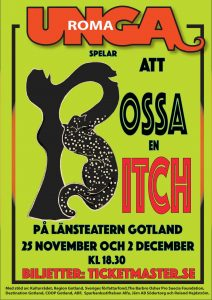 Premiär den 25 november på Länsteater i Visby. Kl 18.30 Köp biljett på Ticketmaster!